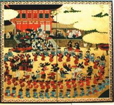 豊国祭礼図